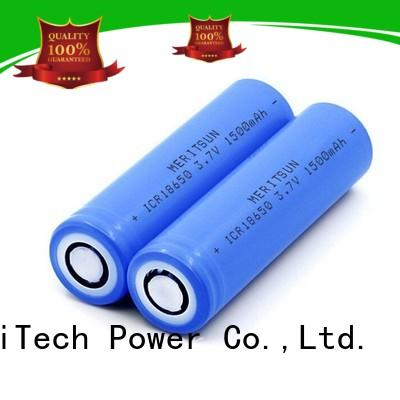 MERITSUN high energy density cheap 18650 batteries manufacturer for electric vehicles