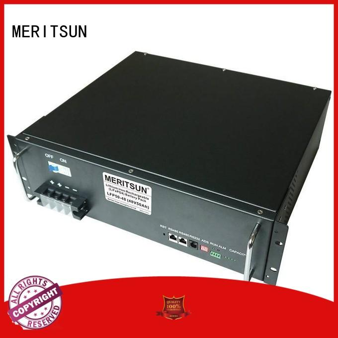 telecom commercial energy storage systems factory direct supply for commercial MERITSUN