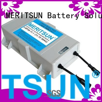30ah linicomno2 ion lithium ion battery for solar street light MERITSUN manufacture