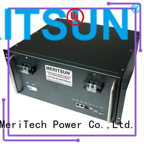 48v lifepo4 battery energy storage system MERITSUN Brand