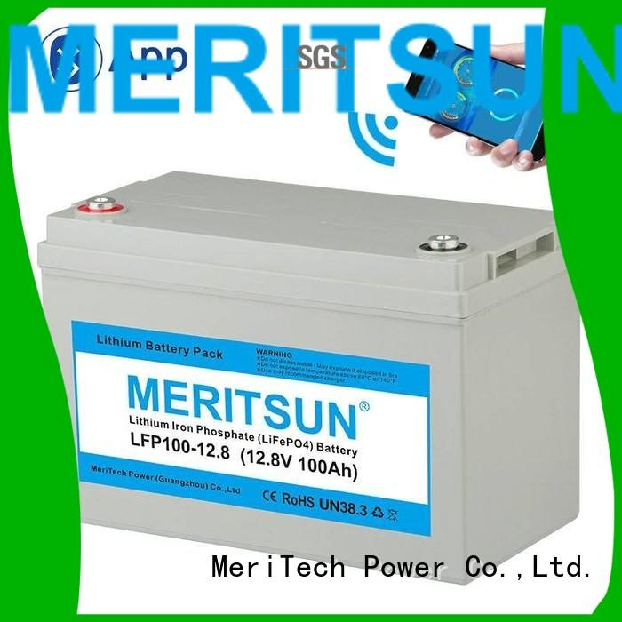 lipo 256v lifepo4 battery MERITSUN Brand