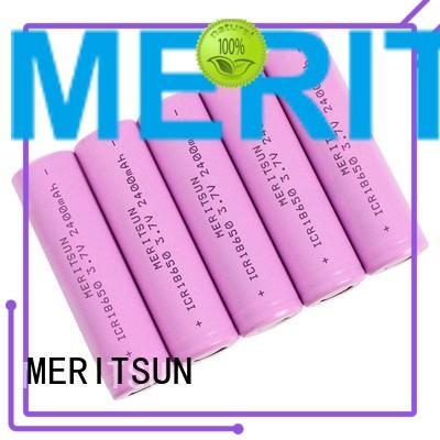 MERITSUN Brand lithium li ion battery cell ifr factory