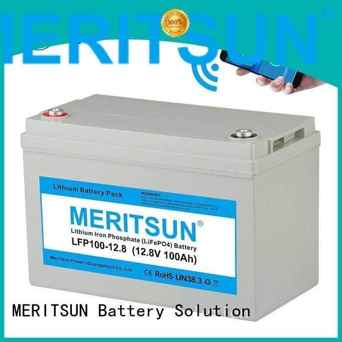 1c liion lifepo4 battery MERITSUN Brand