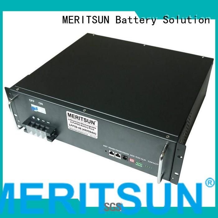 solar energy storage system battery lithium MERITSUN Brand company