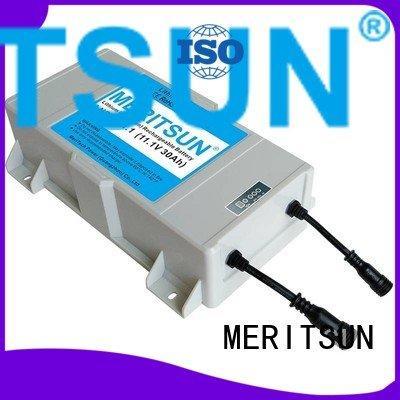 MERITSUN liion cycle lithium ion battery for solar street light
