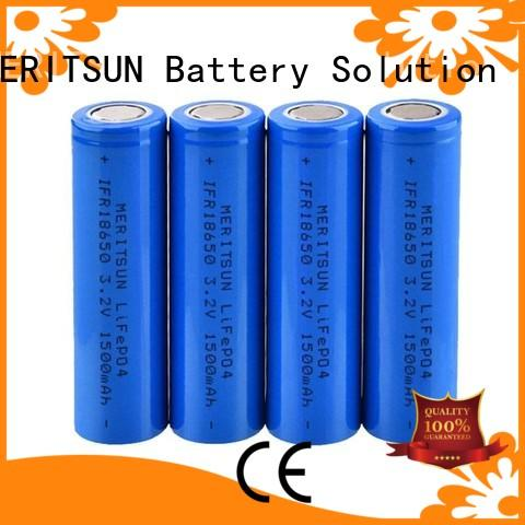 MERITSUN lithium ion cell manufacturer for power bank