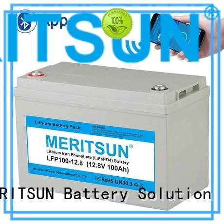 MERITSUN professional lithium battery manufacturers solar for house