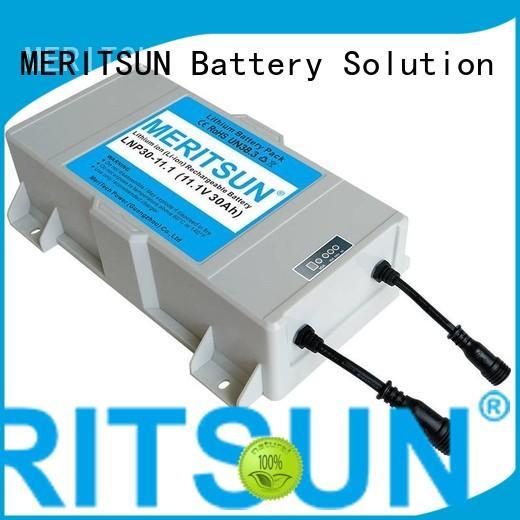 lipo 20ah lithium ion battery for solar street light rechargeable MERITSUN company