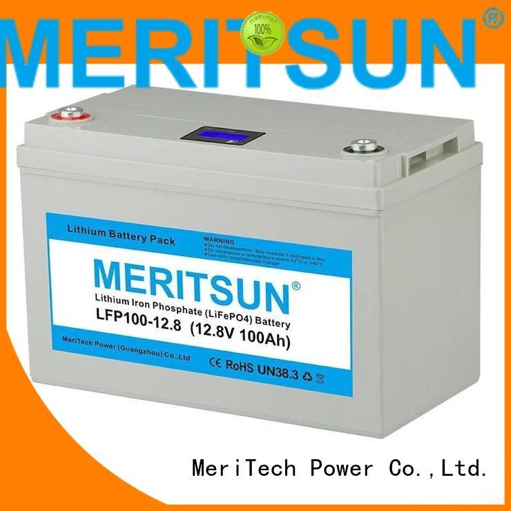 lifepo4 lipo ion lifepo4 battery MERITSUN Brand
