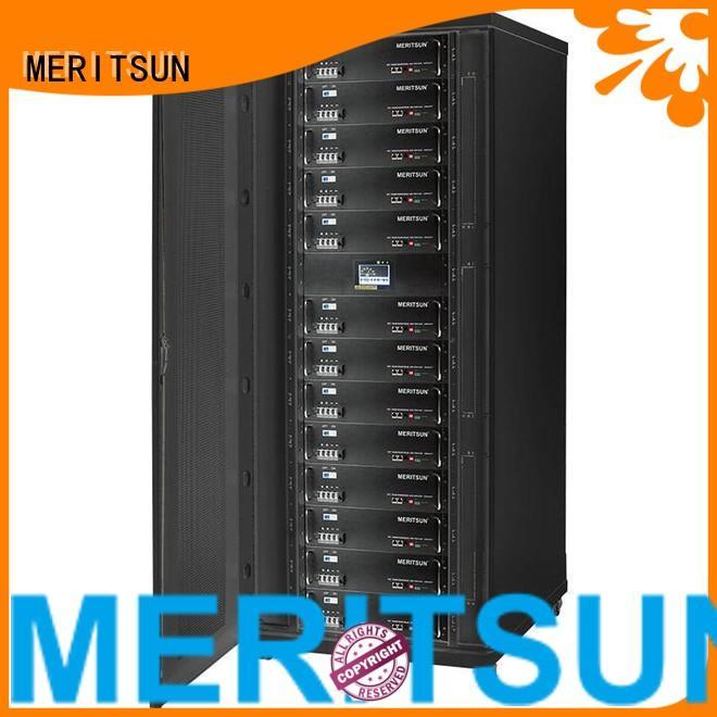 MERITSUN Brand 50ah solar energy storage system storage supplier
