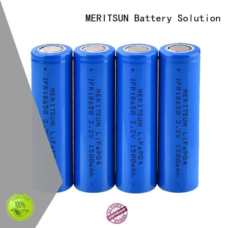 MERITSUN high drain 18650 high drain battery manufacturer for flashlight