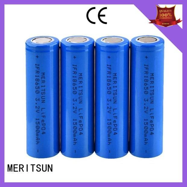 high energy density 3.7 volt lithium ion battery capacity matching for solar MERITSUN