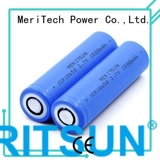 MERITSUN Brand li drain liion li ion battery cell