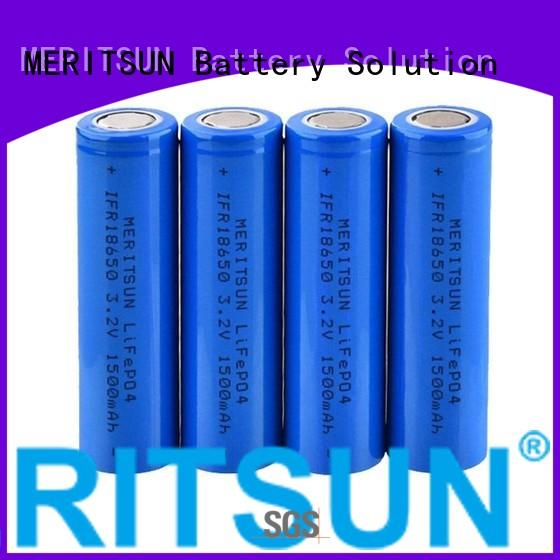 lithium lithium ion battery cells 32v MERITSUN company