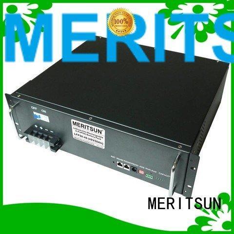 solar energy storage system phosphate MERITSUN Brand battery energy storage system