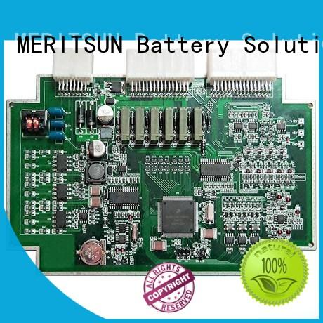 MERITSUN professional circuit board assembly bmu for prolong the life of battery