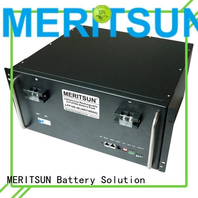 50ah phosphate storage battery energy storage system energy MERITSUN