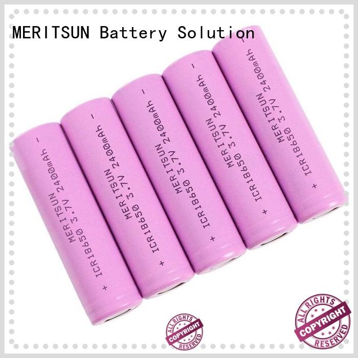 MERITSUN 18650 lithium ion cells manufacturer for solar