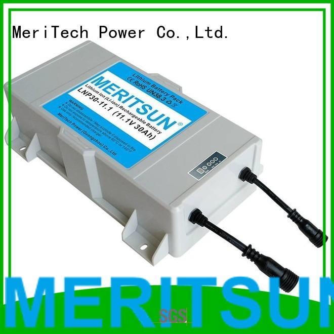 life ion solar solar street light lithium battery MERITSUN Brand company