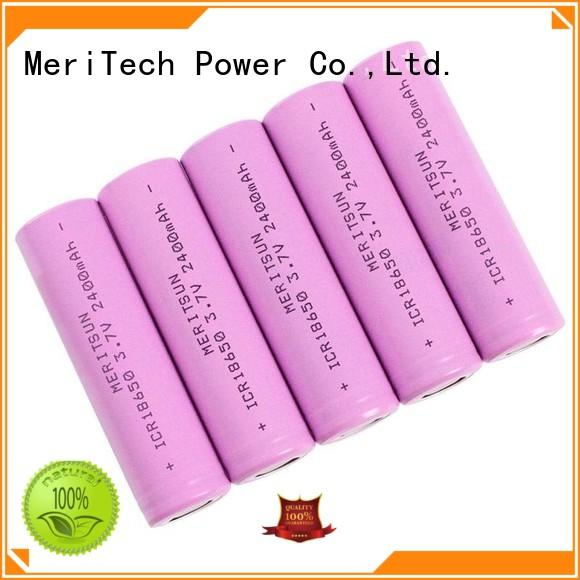 MERITSUN rechargeable li ion battery cell wholesale for telecom