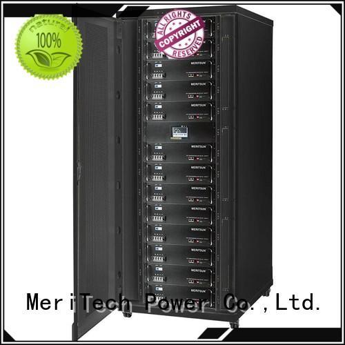 MERITSUN battery power storage customized for base transceiver station