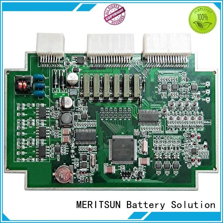 MERITSUN professional lithium ion bms customized for cell balancing