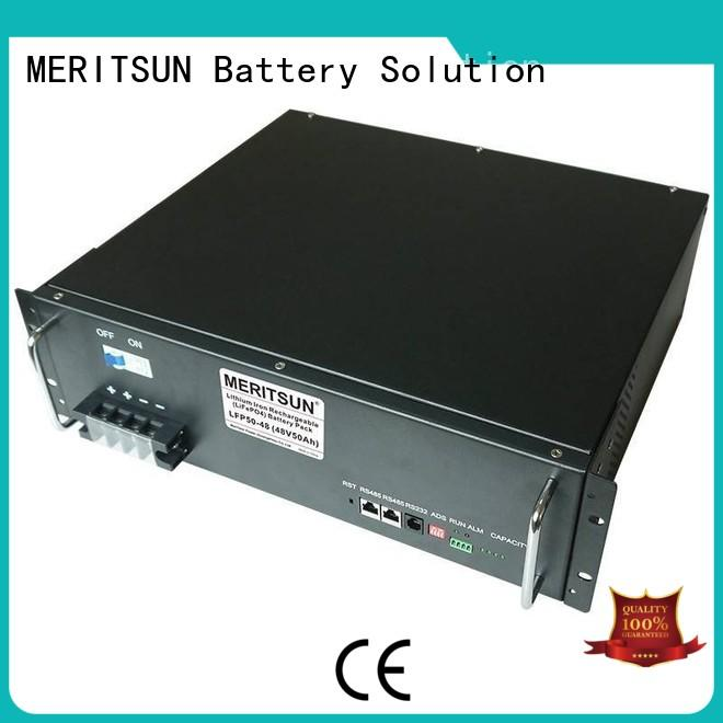 battery energy storage system telecom for commercial MERITSUN