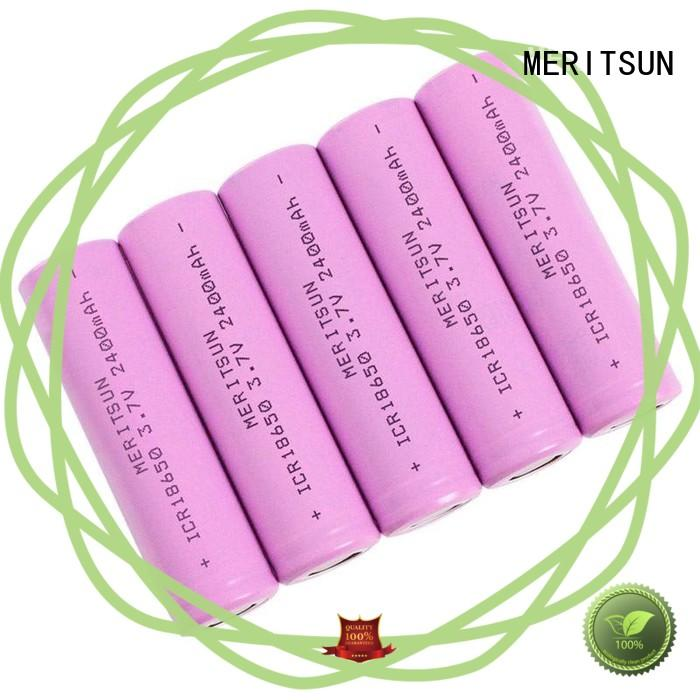MERITSUN small lithium ion battery manufacturer for telecom