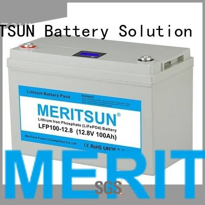 MERITSUN Brand cycle life 50ah custom lifepo4 battery price