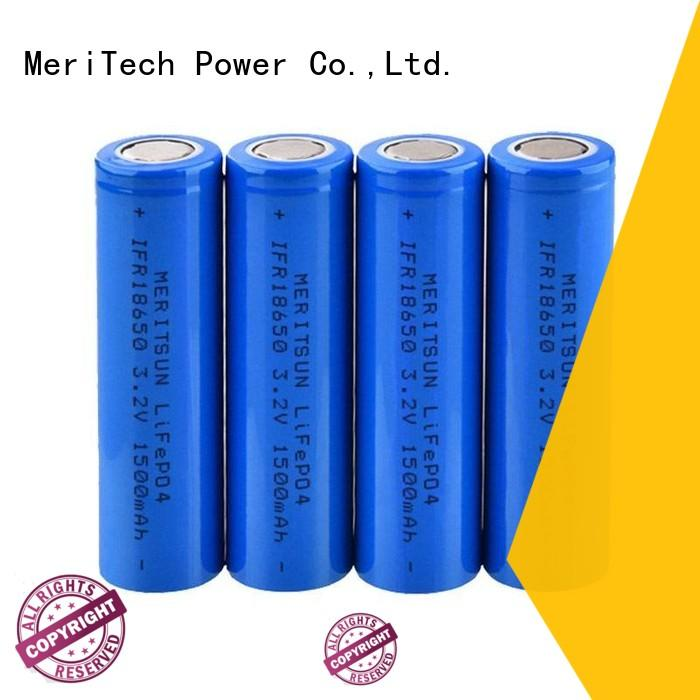 MERITSUN capacity matching lithium battery 18650 suppliers for power bank
