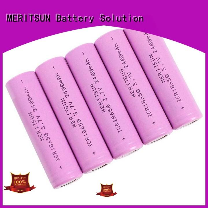 MERITSUN 3.7 volt lithium ion battery factory direct supply for power bank