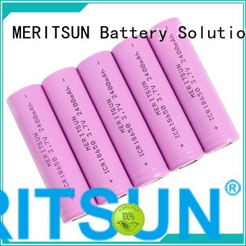 MERITSUN small lithium ion battery wholesale for telecom