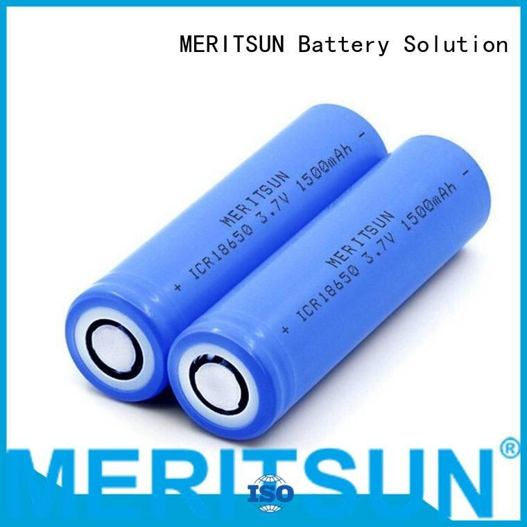 lithium MERITSUN lithium ion battery cells