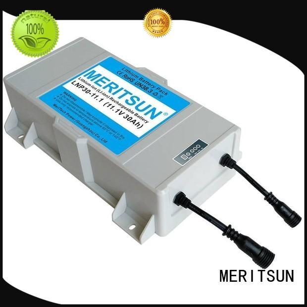 solar street light manufacturer customized for LED light MERITSUN