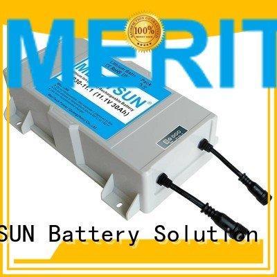 Hot lithium ion battery for solar street light life solar street light lithium battery street MERITSUN