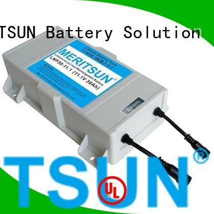 MERITSUN Brand street long solar street light lithium battery battery factory