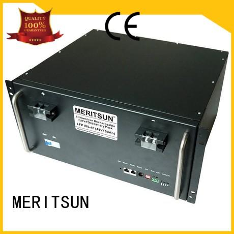 MERITSUN super safe electrical energy storage systems customized for commercial