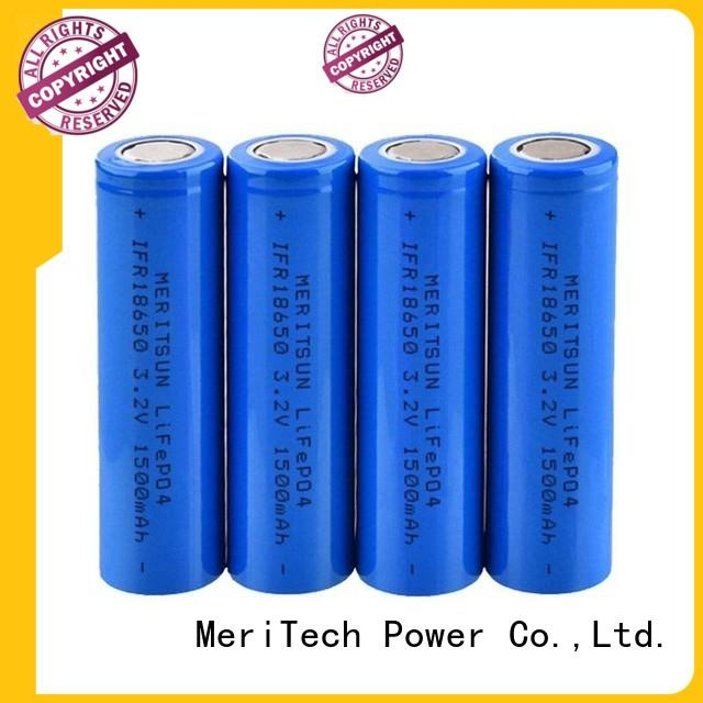 MERITSUN high drain 18650 battery cell customized for flashlight