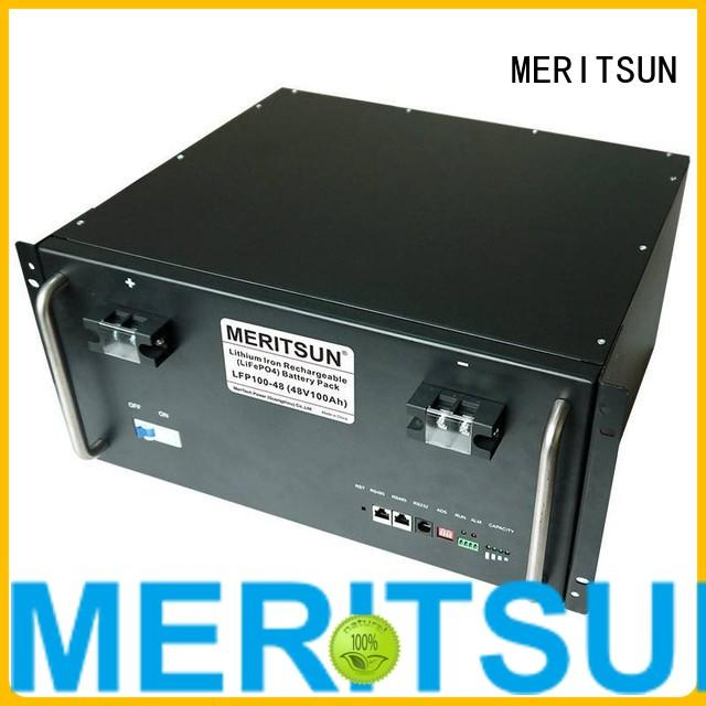solar phosphate 50ah solar energy storage system MERITSUN manufacture