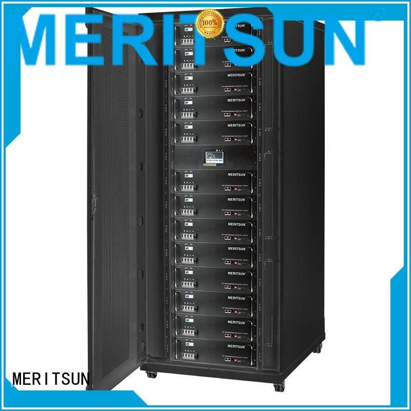 MERITSUN Brand 50ah storage battery battery energy storage system manufacture