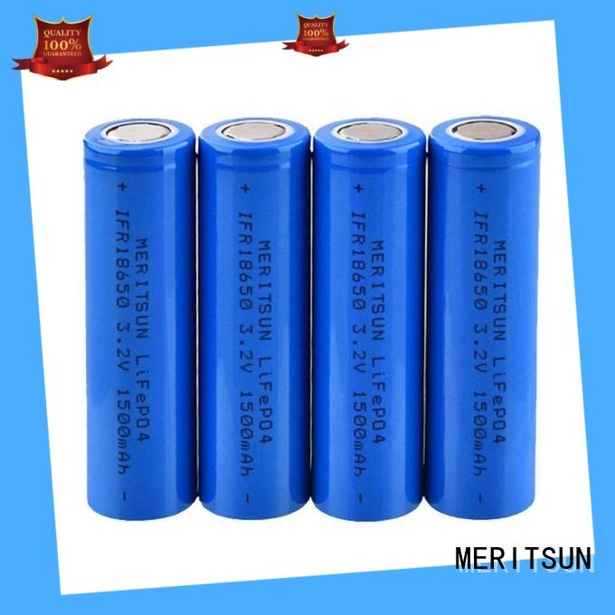 MERITSUN 18650 high drain battery wholesale for telecom