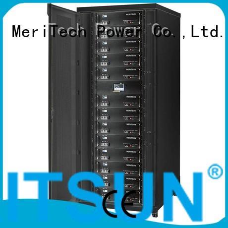 MERITSUN Brand solar battery storage solar energy storage system lifepo4