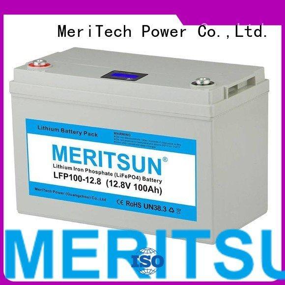 MERITSUN lifepo4 battery price polymer 24v lifepo4