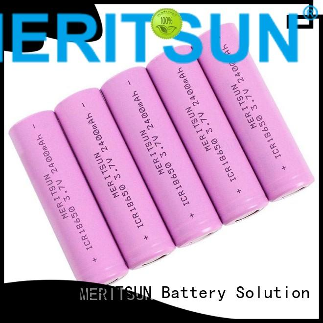 MERITSUN Brand rechargeable cell ion lithium ion battery cells 37v
