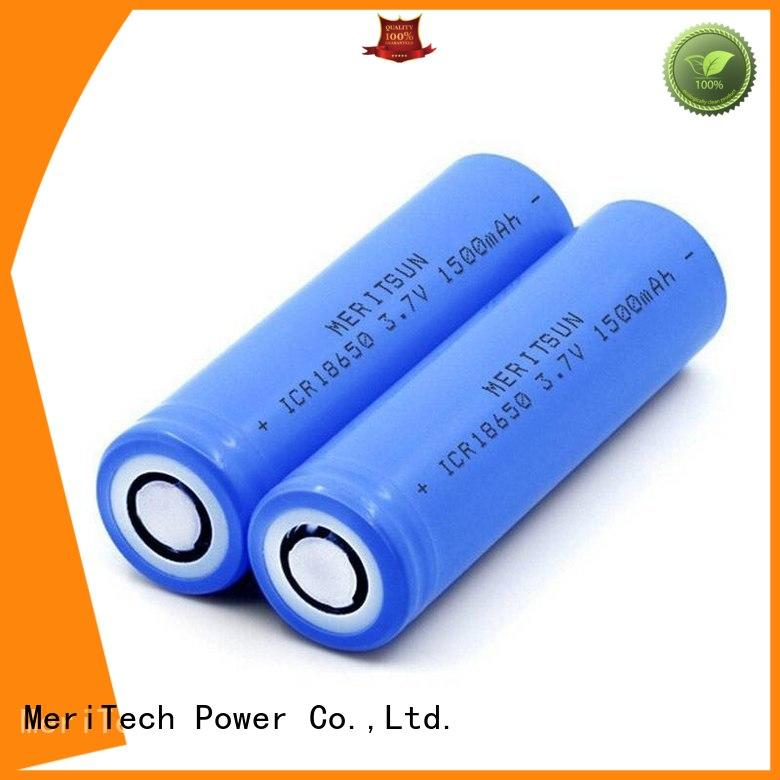 rechargeable lithium ion battery cells wholesale for electric vehicles MERITSUN