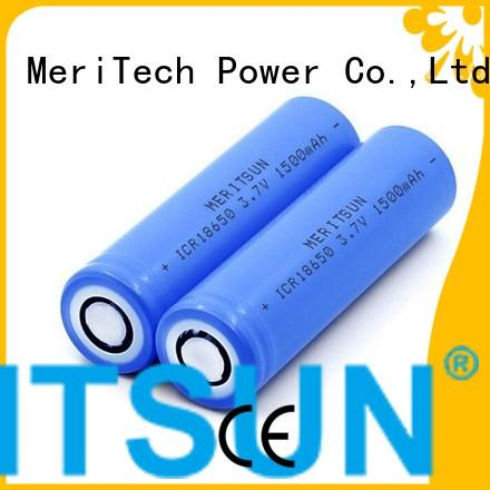 Wholesale battery li ion battery cell MERITSUN Brand