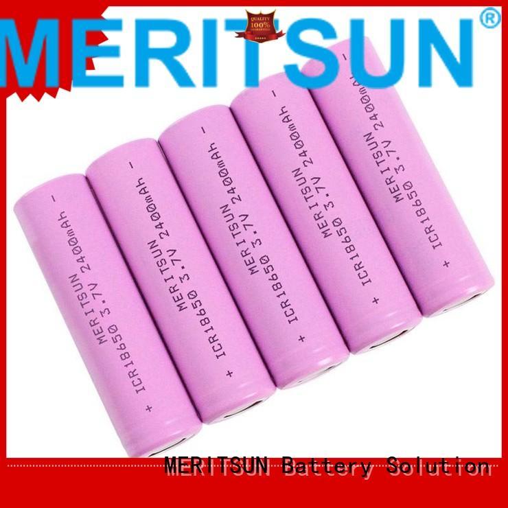 Wholesale lifepo4 li ion battery cell MERITSUN Brand