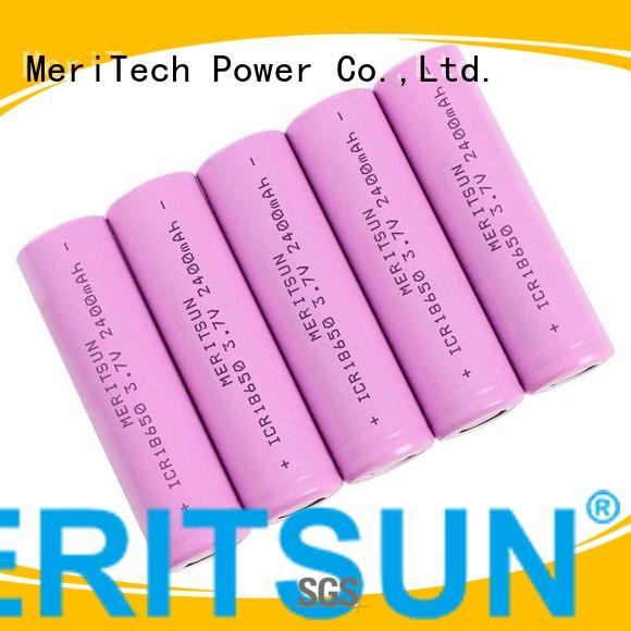 li icr lipo li ion battery cell MERITSUN