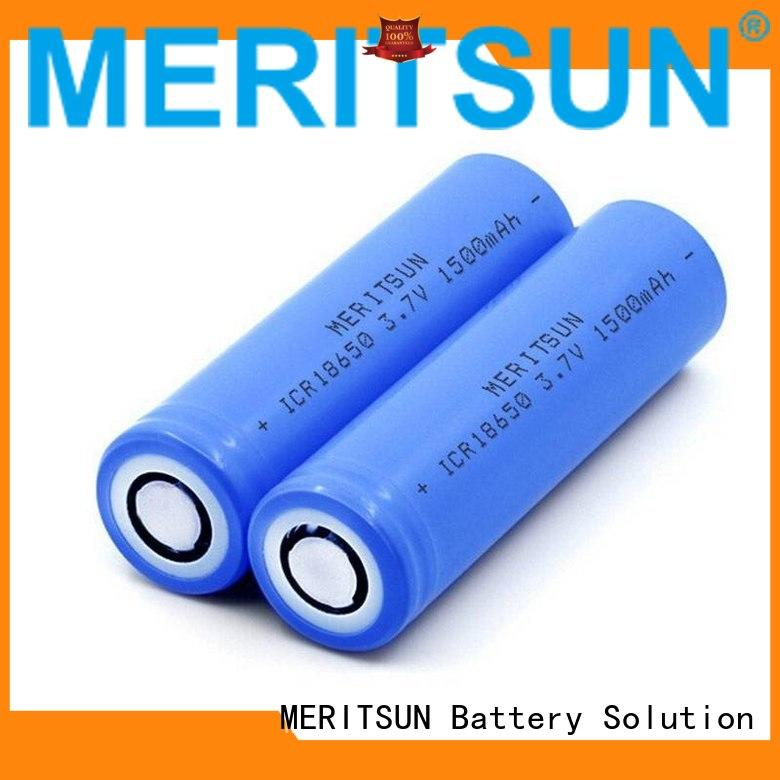 MERITSUN reliable 18650 li ion cells manufacturer for power bank