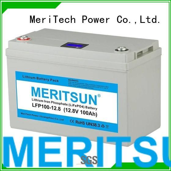 MERITSUN Brand deep ion phosphate lifepo4 battery price 256v
